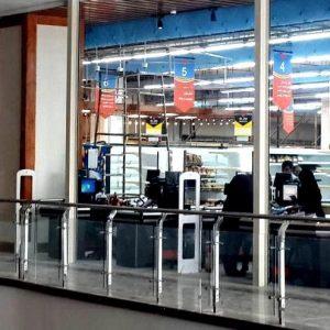 نصب-گیت-امنیتی-فروشگاهی-در-هایپر-مادر-دزفول