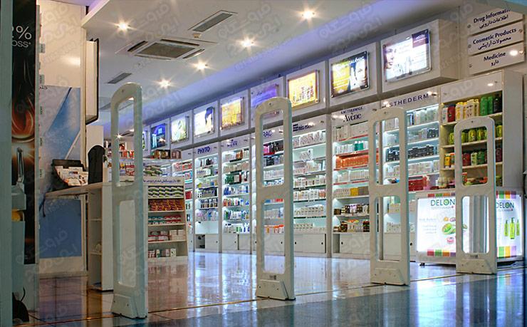 Drug-Store—Farmacy-Antishoplifting-Antenna